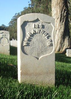 Pvt William Randolph