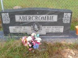 JoAnn <I>Robinson</I> Abercrombie