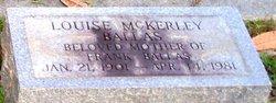 Lillian Louise <I>McKerley</I> Ballas