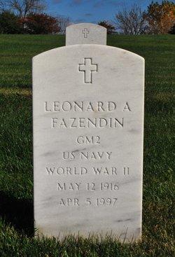 Leonard A Fazendin