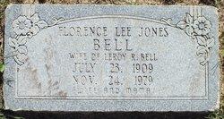 Florence Lee <I>Jones</I> Bell