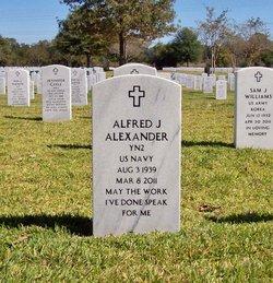 Alfred J Alexander
