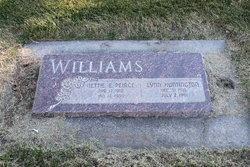 Nettie Eugenia <I>Pierce</I> Williams