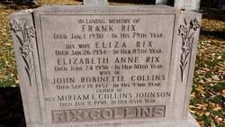 Miriam E. <I>Collins</I> Johnson