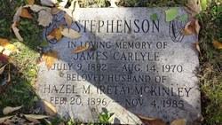 "Hazel M. ""Reta"" <I>McKinley</I> Stephenson"