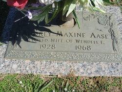 Audrey Maxine Aase