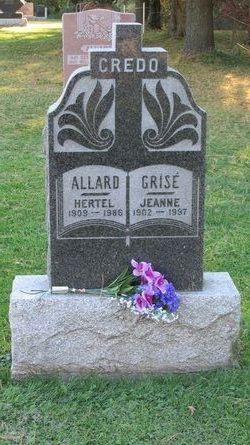 Jeanne <I>Grise</I> Allard