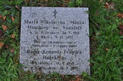 "Mrs Maria Nikolaevna ""Moura"" <I>Ananieff</I> Hutchings"