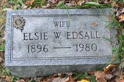 """Elsie Amelia """"Else"""" <I>Whitney</I> Edsall"""