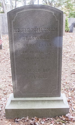 Elsie <I>Whitney</I> Griswold
