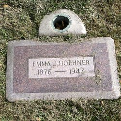 Emma W. <I>Jahn</I> Hoehner