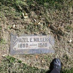 Hazel Edna <I>McClure</I> Miller