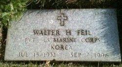 Walter H Feil