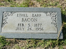 Ethel <I>Earp</I> Bacon