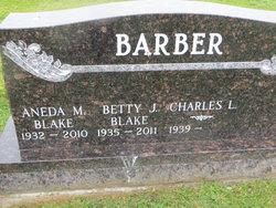 Betty J. <I>Blake</I> Barber