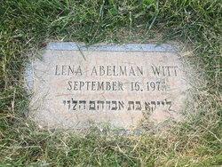 Lena <I>Abelman</I> Witt