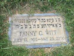 Fanny C Witt