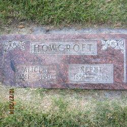 Alice <I>Barton</I> Howcroft