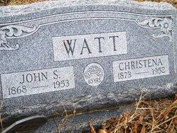 Christena <I>Bohnenstiehl</I> Watt