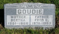 Bertha <I>Dougherty</I> Goudie