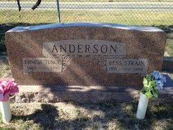 """Bessie Ann """"Bess"""" <I>Strain</I> Anderson"""