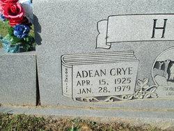Minnie Adean <I>Crye</I> Hill