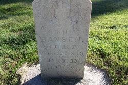 Mathea <I>Halverson</I> Hansen