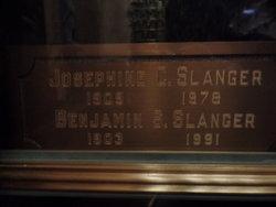 Josephine C <I>Comfort</I> Slanger