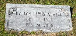 Evelyn <I>Lewis</I> Atwill
