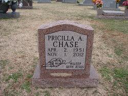 Pricilla A. <I>Rexford</I> Chase