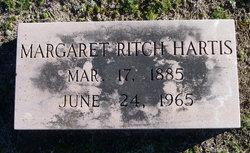Margaret Zula <I>Ritch</I> Hartis