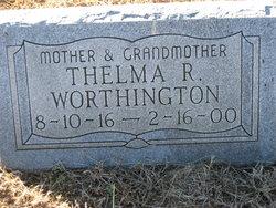 Thelma R Worthington
