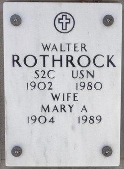 Mary A Rothrock