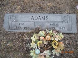 Sarah C <I>Chaffin</I> Adams