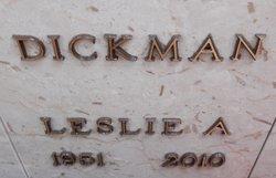 """Leslie """"Les"""" Dickman"""