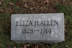 Eliza H. <I>Oglesby</I> Allen