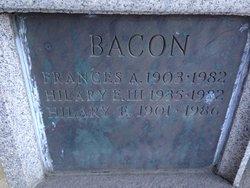 Dr Hilary E. Bacon