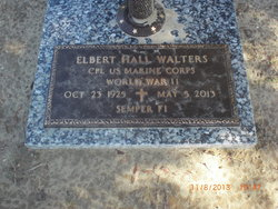 "Elbert Hall ""Gunner"" Walters"