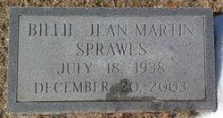 Billie Jean <I>Martin</I> Sprawls