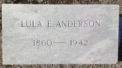 Lula E <I>Rainey</I> Anderson
