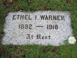 Ethel Ira <I>Stewart</I> Warner
