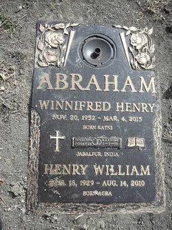 Winnefred <I>Henry</I> Abraham