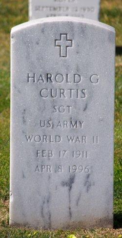 Harold George Curtis