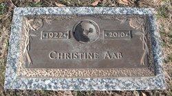 Christine <I>Davis</I> Aab