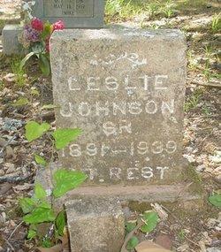 Leslie Johnson, Sr