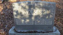 Charlie Durham Baker