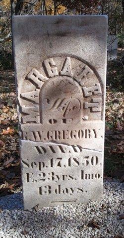 Margaret <I>Mitchell</I> Gregory
