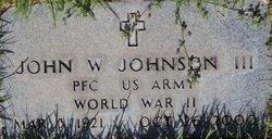 John W Johnson, III