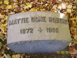 "Martha Elizabeth ""Mattie"" <I>Cone</I> Rogers"
