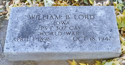 William B Lord
